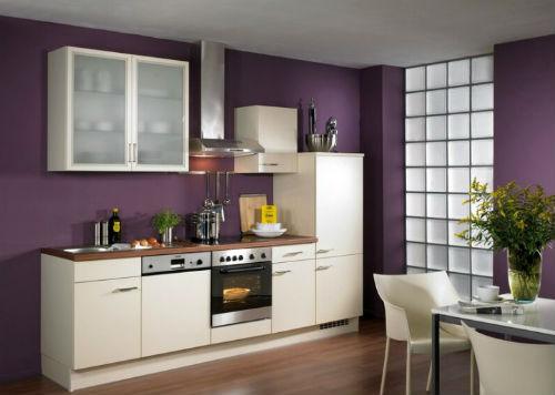 Современные фиолетовые кухни фото