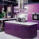 Невероятно красивая фиолетовая кухня (более 50 фото-примеров)