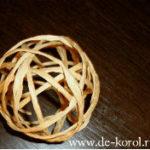 Шары из веревок или шары из шпагата своими руками (мастер класс)