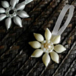 Снежинки из макарон – отличная альтернатива бумажным аналогам