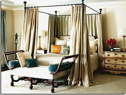 Балдахины над кроватью фото