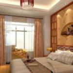 Стильная Китайская спальня или эффектная спальня в Китайском стиле