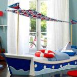 Тематический интерьер: потрясающая детская комната в морском стиле
