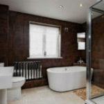 Коричневая ванная комната – шик и уют в одном флаконе