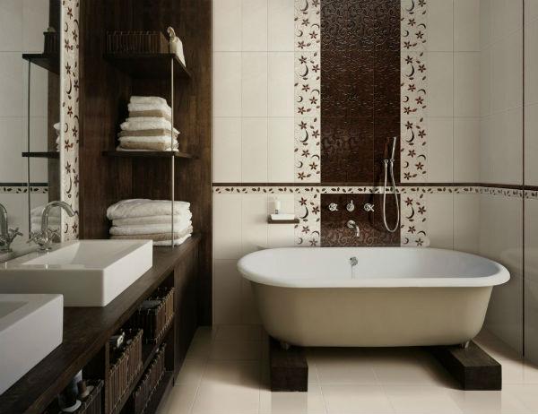 Коричневая ванная комната отзывы комната голубая мебель