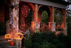 Идеи декора на Хэллоуин.