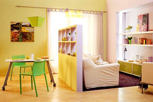 Перегородки для зонирования комнаты (более 35 примеров)