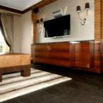 Кожаные полы в интерьере – тепло, роскошь и уют