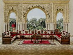 Гостиная в Марокканском стиле.