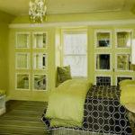 Жизнеутверждающая спальня в оливковом цвете (30 фото)