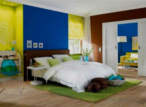 Beispiele Wandfarbe Lila Wohnzimmer