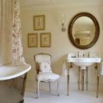 Очаровательная ванная в стиле Прованс (30 фото)