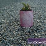 Мастер-класс: вазон из пластиковой бутылки (декор толью)