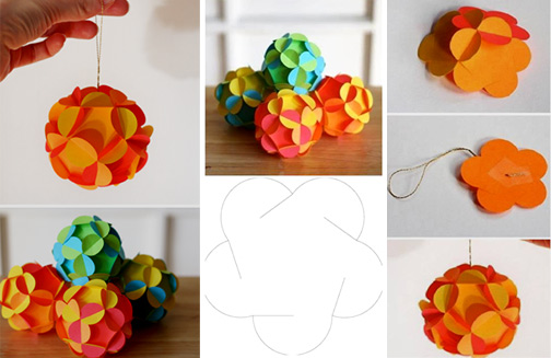 как сделать большие шары своими руками для украшения зала