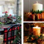 Лучшие новогодние композиции со свечами (более 55 идей)