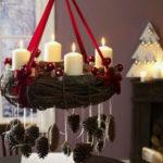 Новогодний декор из шишек или декор из шишек на Новый год