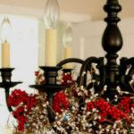 Украшение люстры на Новый Год или как украсить люстру на Новый Год