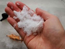 Как сделать искусственный снег.