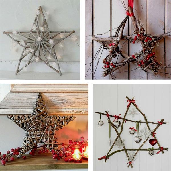 Звезды для декора своими руками