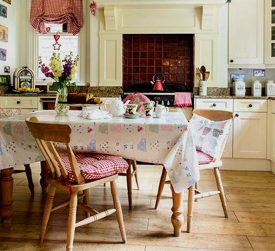 Кухня в стиле винтаж, фото.