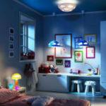 Актуальные люстры в детскую комнату мальчика. Фото