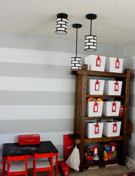 Актуальные люстры в детскую комнату мальчика