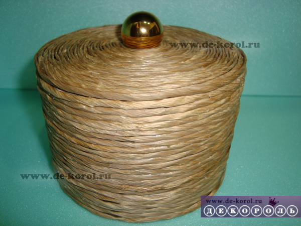 Шкатулки плетеные из шпагата мастер класс пошаговый #8