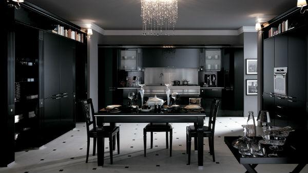 Осовремененная кухня барокко.