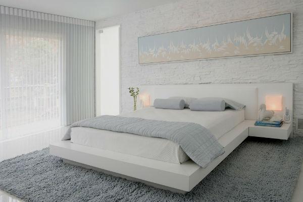 Тумбочки в спальне, фото.
