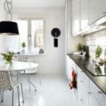 Интерьер кухни в скандинавском стиле – чистота и простор