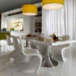 Как выбрать стол для кухни – цвет имеет значение. 60+ фото