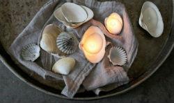 Свеча в ракушке: мастер класс по самостоятельному изготовлению