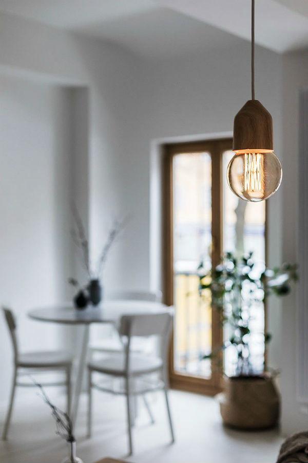 Белоснежный дизайн квартиры в Швеции
