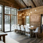 Уютный дом в Швеции в Скандинавском стиле и нотками Шале