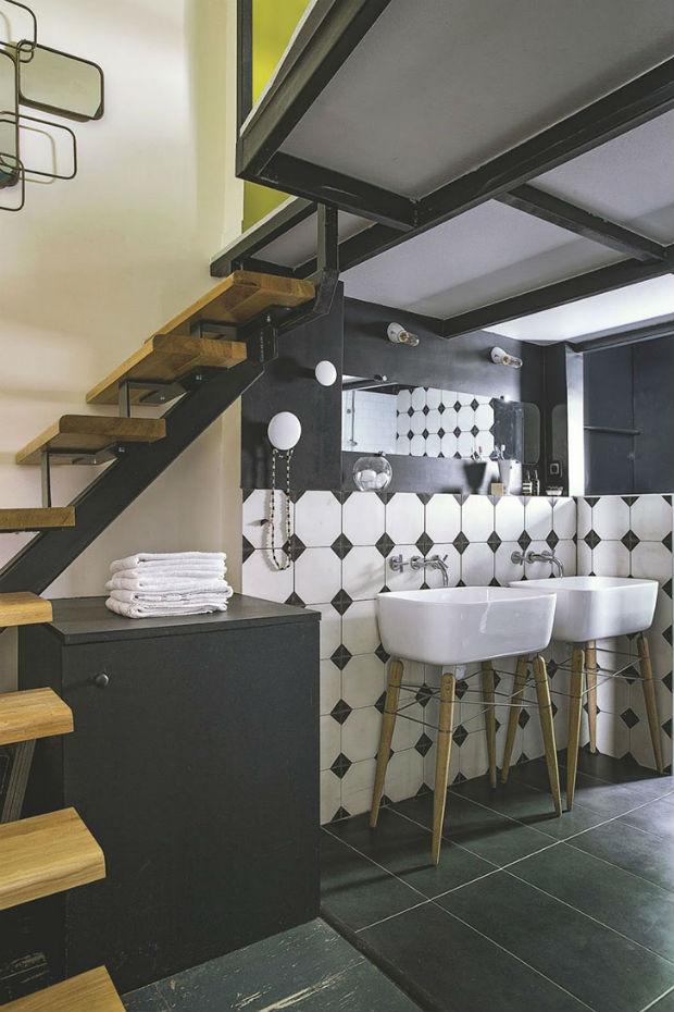 Нестандартное оформление Парижcкой квартиры