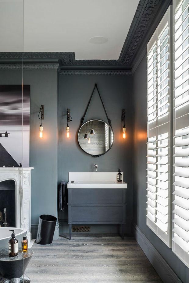 Очень стильный дизайн интерьера одного таунхауса в Лондоне