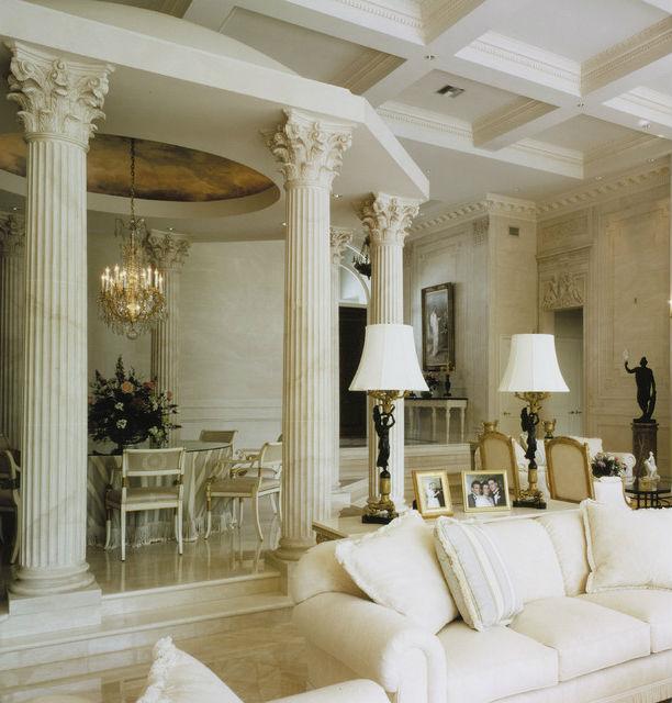 Дизайн интерьера в Римском стиле: характерные черты, мебель, декор (50+ фото)