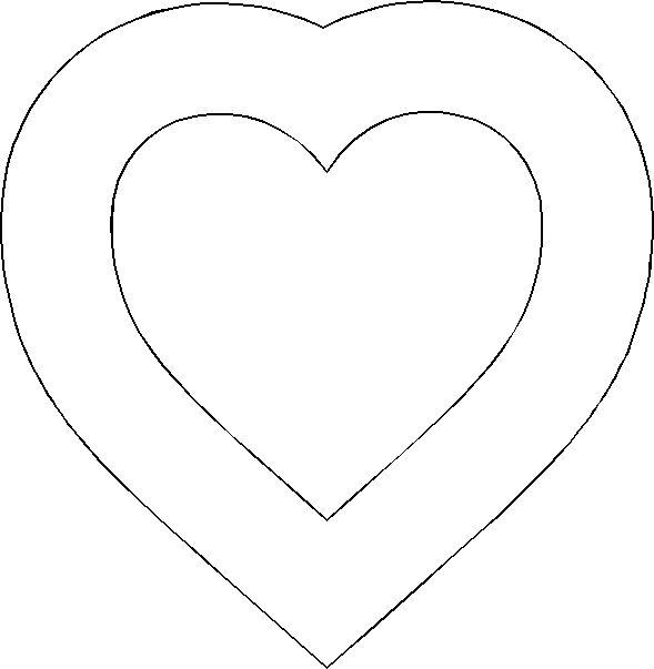 Подушка сердечко без сшивания (идея для подарка или домашнего декора)