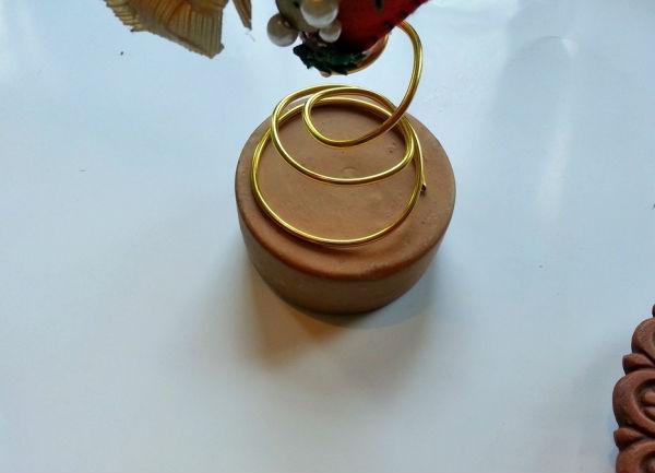 Статуэтка сердце из фетра своими руками (идея для декора или подарка)