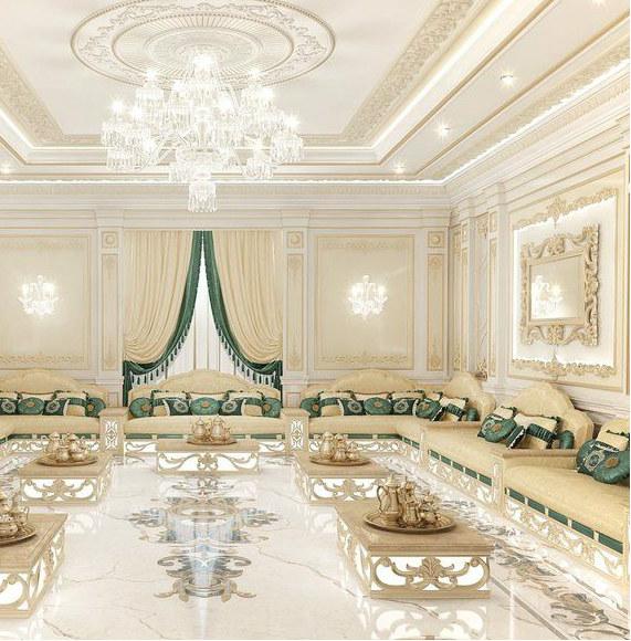 Дизайн интерьера в Арабском стиле.