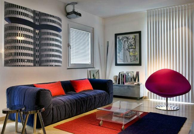 Интерьер в стиле Авангард – описание стиля (более 60 фото дизайна помещений)