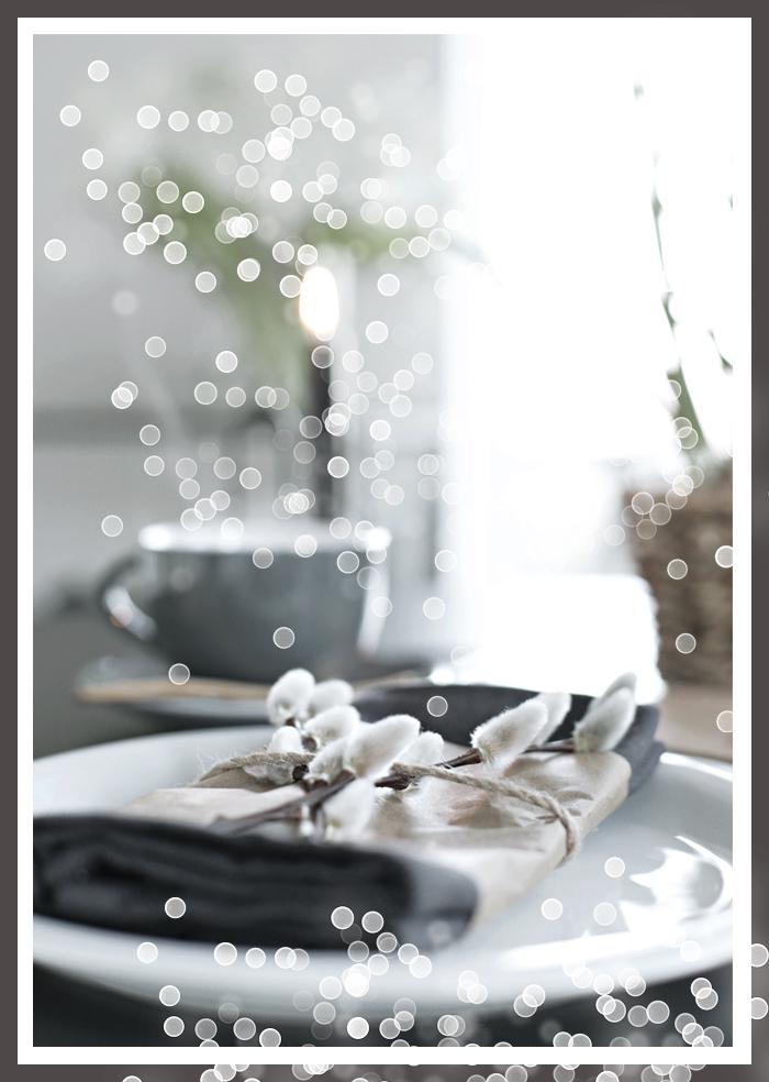 Красивый декор столовых салфеток на Пасху своими руками за 2 минуты