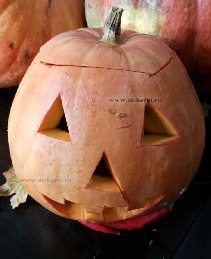 Как вырезать тыкву на Хэллоуин своими руками (мастерим фонарь Джека с детьми)