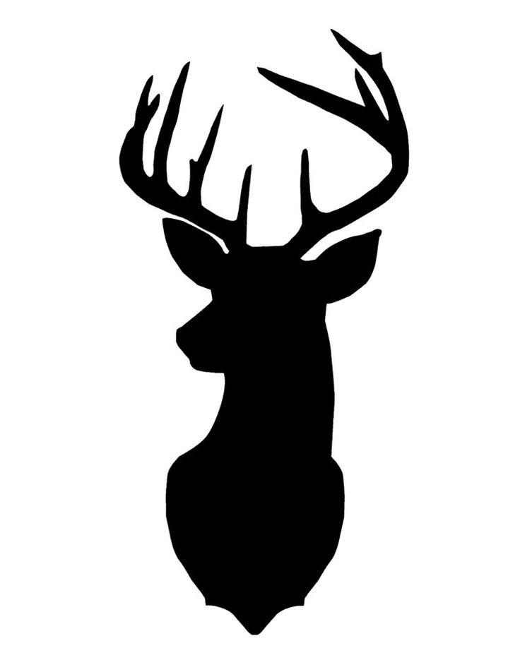 Новогодняя картина или панно с оленем своими руками