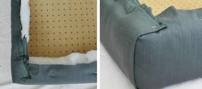 Как сделать мягкое изголовье кровати своими руками (мастер-класс)