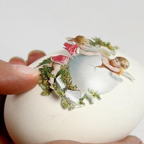 Милые елочные игрушки из скорлупы яиц своими руками (мастер-класс)